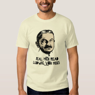 Real Men Read Mises T-Shirt