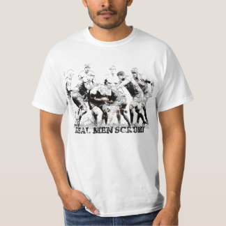REAL MEN SCRUM! T-Shirt