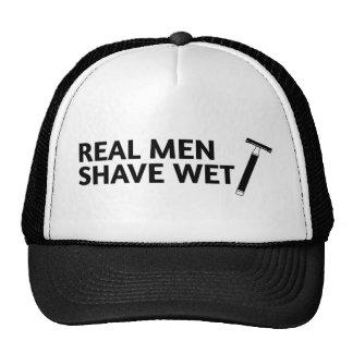 Real Men Shave Wet Cap
