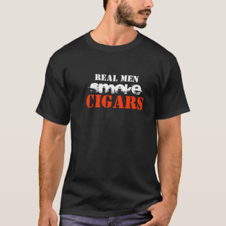 Real Men Smoke Cigars T-Shirt