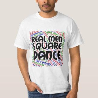 Real Men Square Dance 2 Tee Shirt