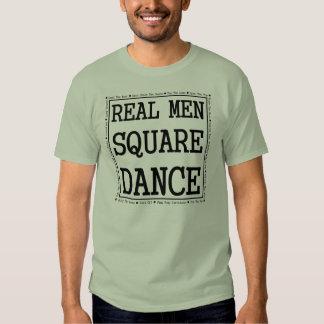 Real Men Square Dance Tees