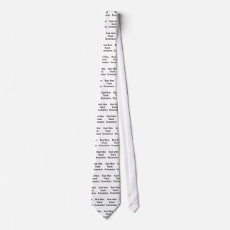 Real Men Teach Economics Tie