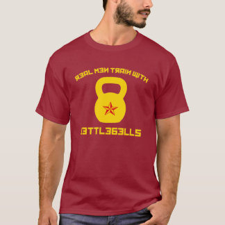 Real Men Train With Kettlebells T-Shirt