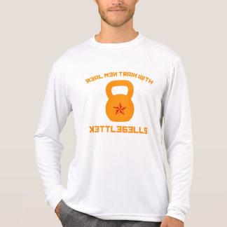 Real Men Train With Kettlebells Tshirts