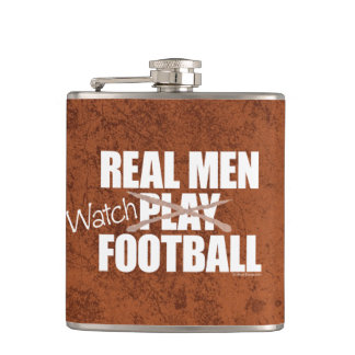 Real Men Watch Flask
