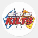Real Men Wear Kilts 2 Stickers