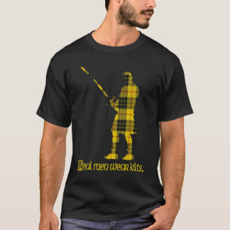 Real Men Wear Kilts MacLeod Scottish Tartan 2 T-Shirt