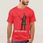 Real Men Wear Kilts Royal Stewart Scottish Tartan T-Shirt