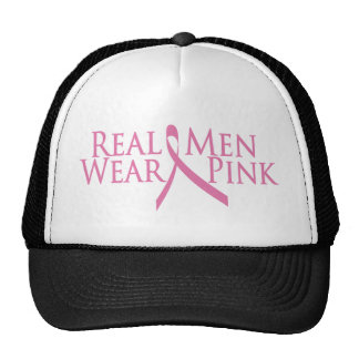 real men wear pink 2009 mesh hats