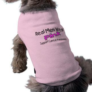 Real Men Wear Pink Cancer Awareness Shirt