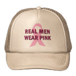 Real Men Wear Pink for Breast Cancer Awareness Hat
