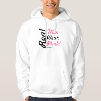Real Men Wear Pink Hoodie - Breast Cancer