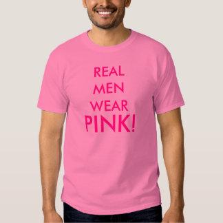 REAL MEN WEAR , PINK! SHIRT