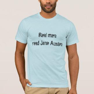 Real menread Jane Austen T-Shirt