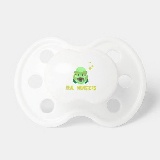 Real Monsters Pacifiers