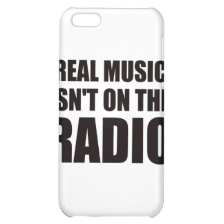 Real music isn t on the radio iPhone 5C covers