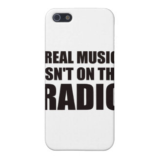 Real music isn t on the radio iPhone 5 case