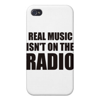 Real music isn t on the radio case for iPhone 4