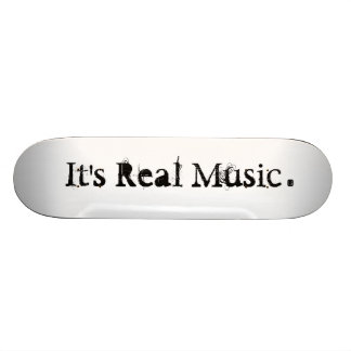 Real Music® Skateboard Decks