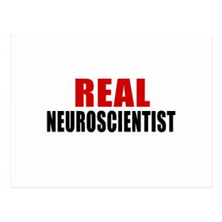 REAL NEUROSCIENTIST POSTCARD