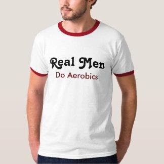 Real one do aerobics tee shirts