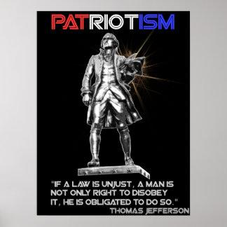 Real Patriotism Poster