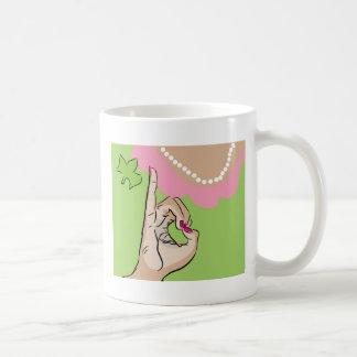 Real Pretty Girl Sorority Fun Classic White Coffee Mug