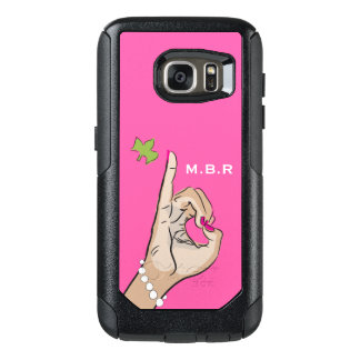 Real Pretty pink and green love OtterBox Samsung Galaxy S7 Case