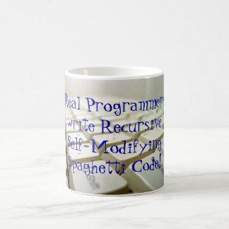 Real Programmers... Basic White Mug