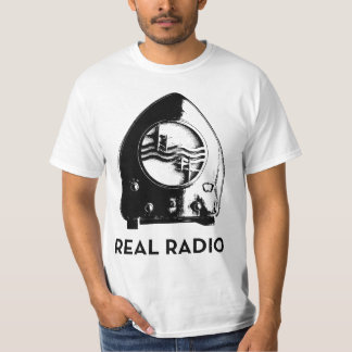 Real Radio t-shirt [Light]