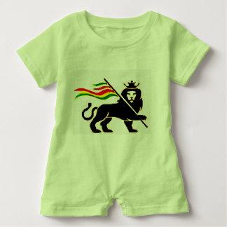 Real Rasta Lion Baby Baby Bodysuit