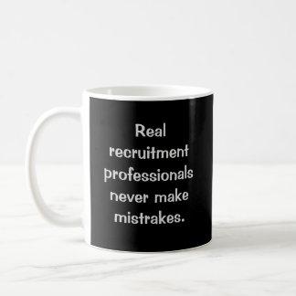 Real Recruitment Professionals Funny Joke Coffee Mug
