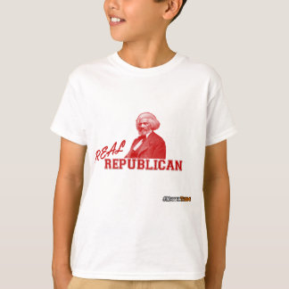Real Republican, Frederick Douglass, Never Trump T-Shirt