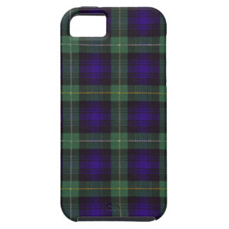 Real Scottish tartan - Campbell of Argyll iPhone 5 Cover