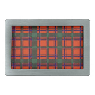 Real Scottish tartan - Dalzell - Drawn by Nekoni Belt Buckle