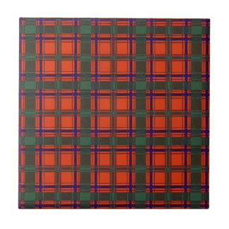 Real Scottish tartan - Dunbar Small Square Tile