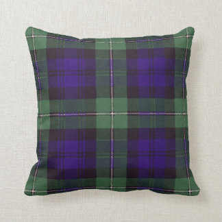 Real Scottish tartan - Forbes Cushion