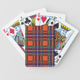 Real Scottish tartan - Macfarlane Bicycle Playing Cards