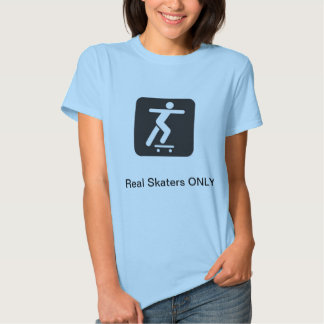 real skaters t-shirt