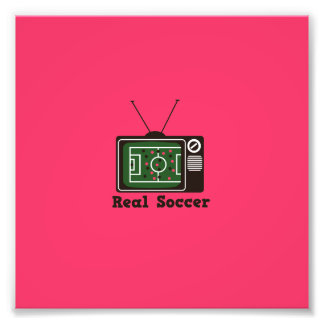 Real Socccer Art Photo