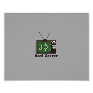 Real Socccer Photo Print