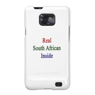 Real South African Inside Samsung Galaxy SII Case
