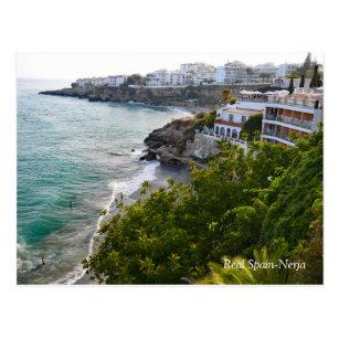 Real Spain-Nerja Postcard