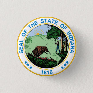 Real State Seal 3 Cm Round Badge