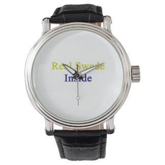 Real Swede Inside Wristwatch
