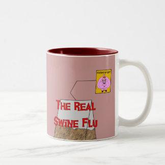 Real Swine Flu Coffee Mug
