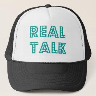 Real Talk Snapback Cap