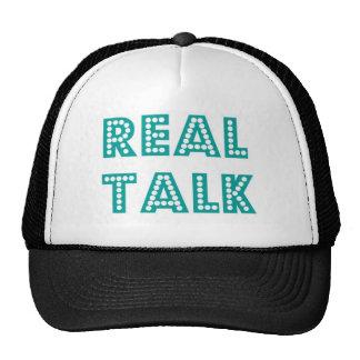 Real Talk Snapback Mesh Hats