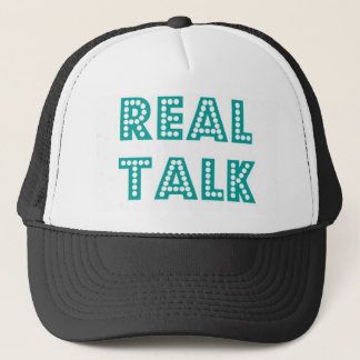 Real Talk Snapback Trucker Hat